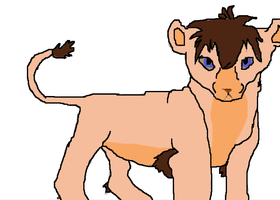 Vitani's cub for MissAsiah by digimonfrontier77