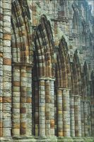 Whitby Arches by handfat