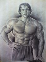 ARNOLD SCHWARZENEGGER by ARTISTS99