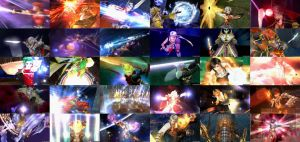 Dissidia 012 Character Collage by Mrfipp