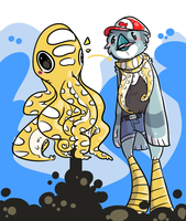 octoscarf makes good bling by HauntedHomo
