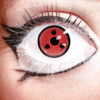 My Eyeball with Sharingan by sketched1