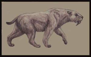Smilodon Populator by Leogon