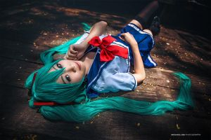 Vocaloid Miku Hatsune by wkwebsite