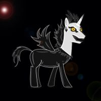 Pony of Death - Ryuk by Isoscelescube