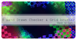 Checkers and Grids by ICouldntThinkOfAName