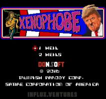 Xenophobe (Trump title screen political parody) by OcularInflux