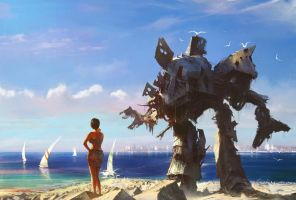 Beach mecha by agnidevi