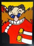 Dr. Eggman painting by TheScarecrowOfNorway