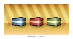 Miscellaneous Package Design by blueslaad