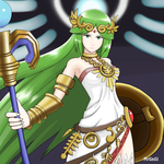 Palutena by mrgardenart