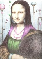 Mona Lisa by reesespieces