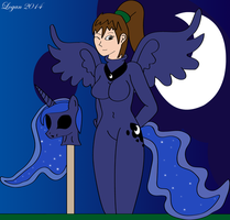 Glorious Night - Leria into Princess Luna by TheSuitKeeper89