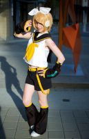 Kagamine Rin: Ready For Some Music? by AnyaPanda