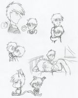 More Jon And Jervy Sketches by ZoeShiranui