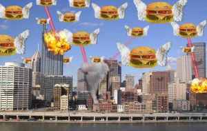 When Fast Food Attacks by AiPFilmMaker