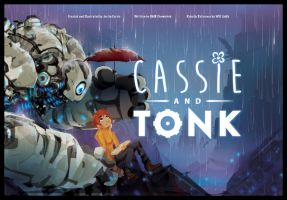 Cassie and Tonk. by ChasingArtwork