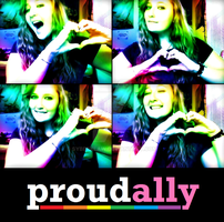 PROUD ALLY!! by syberklaw