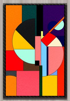 Stained Glass 1 by kingjs