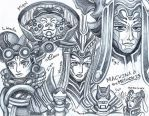 Xenoblade Chronicles sketch 10 by LadyJuxtaposition