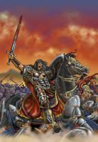 King Conan in Battle by RubusTheBarbarian