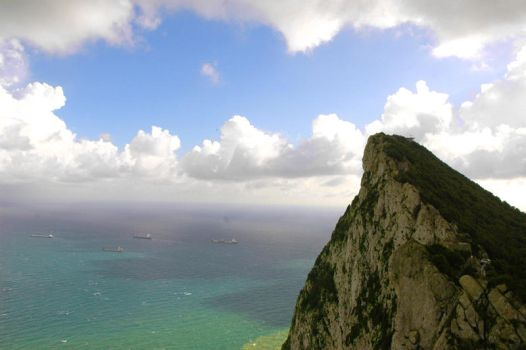 Top of the Rock Gibraltar by B-maan