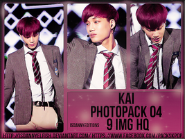 Kai (EXO) - PHOTOPACK#04 by JeffvinyTwilight