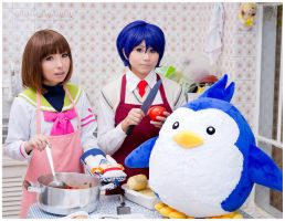 Ringo and Shoma cooking:::::: by Witchiko