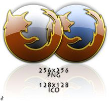 Firefox Glass Icons v2 by pacman121