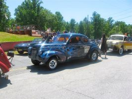 Chevy Coupe Gasser by absoluteandrew