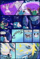 Team LoveShock: Mission 5 P.13 by CheesyCrocs