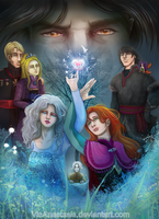 Frozen reenacted with Three worlds by VisAnastasis