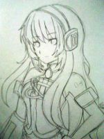 Megurine Luka by ILenrequestsomeshota