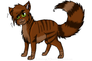 Cedarkit by YellowfangOfStarclan