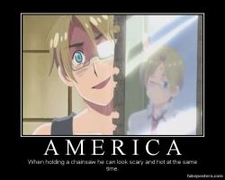 Hetalia Motivational Poster - America by PikaBlaze