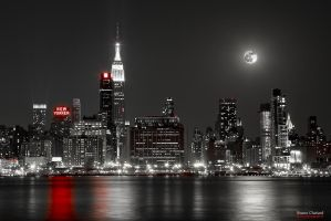 The Red Passion of New York by BrunoCHATARD