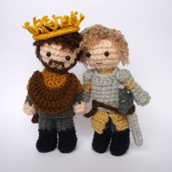 Renly and Loras by LunasCrafts