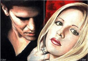 Angel-Buffy 2-card Sketch by Dr-Horrible