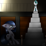 Minkie's Imprisonment  (Redraw) by SophsCreations