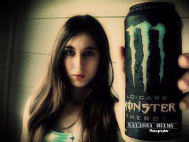 Me with Monster by Ruby288