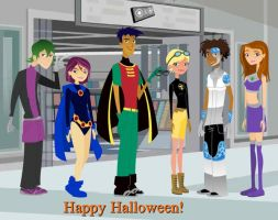 6teen titans by Brockleon