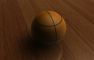 Basket Ball by ZackScream