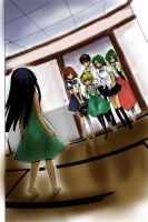 Higurashi - colour try by xSABRiNAAA