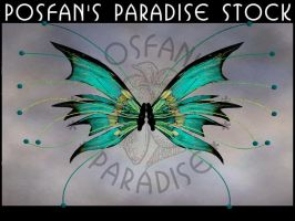 Enchanted Fey  Wings 001 by poserfan-stock