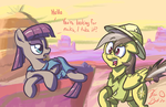 Daring Do Looks for Rocks by FlavinBagel