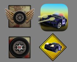 Game App Icons by Cyrus-Wade