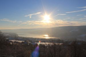 Winter in Lillehammer by Charon1