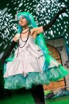 Hatsune Miku - The Camellia princess by CrisisCosplay