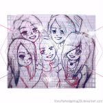 WE ARE THE TOP!//Arya, Mely, Flo, Marta and Marty! by AryTheHedgehog29