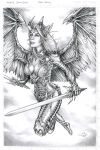 Angelus Witchblade Commission by Carl-Riley-Art